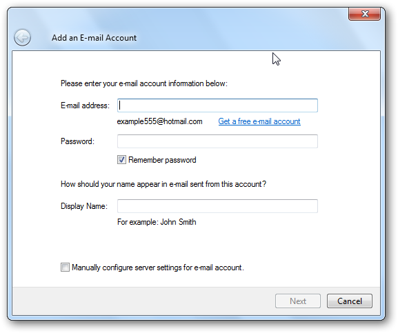 How to Set up Free Hotmail, Yahoo!, GMail, AOL and other e ...