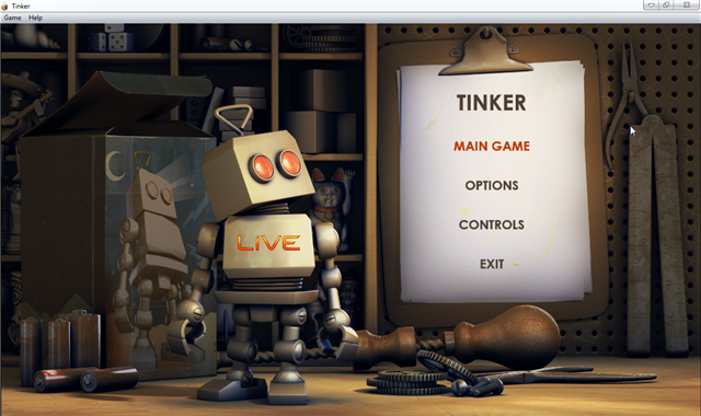 How to install microsoft tinker game in windows 7.
