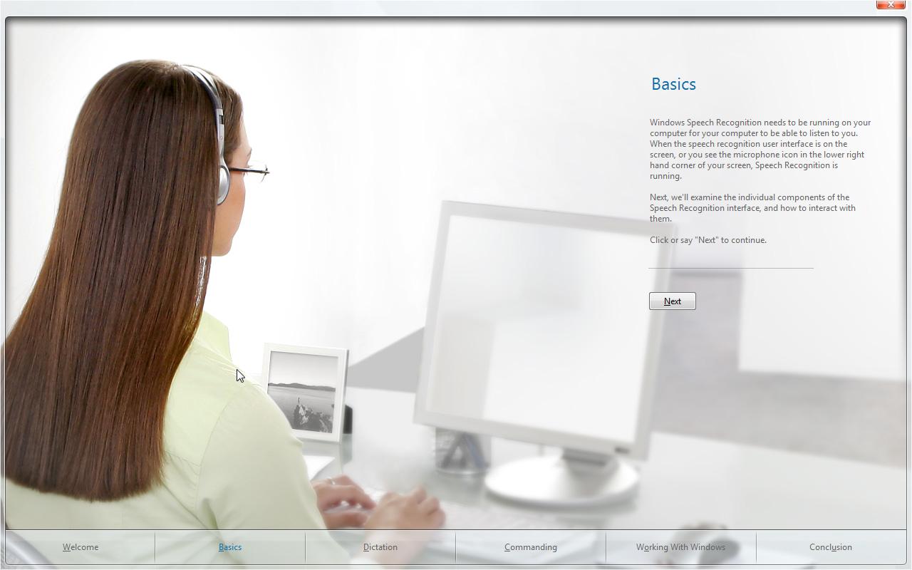 Windows speech recognition-7