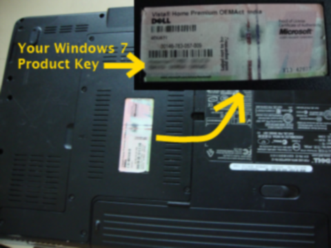 windows 7 OEM product key