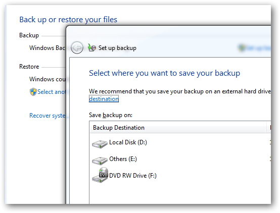 Create a backup in disk in Windows 7 without using any software-3