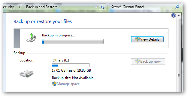 Create a backup in disk in Windows 7 without using any software-6