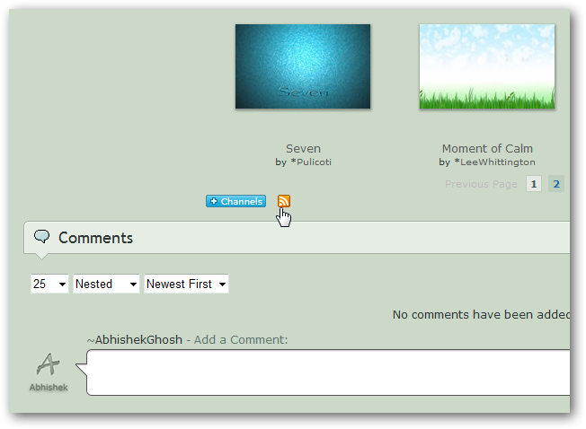 How to use Bing,deviantArt or any RSS images as wallpaper slide show of in Windows 7