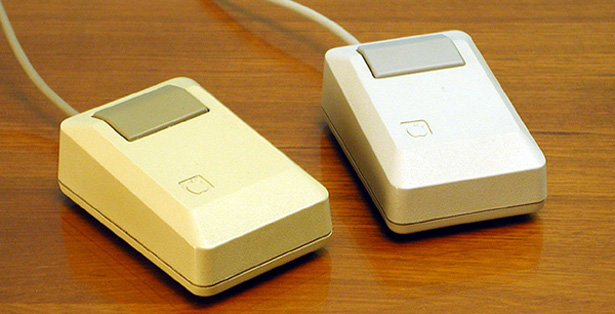 macintosh one button mouse