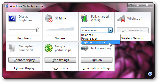 How to enable High performance power option in Windows 7 laptops-3