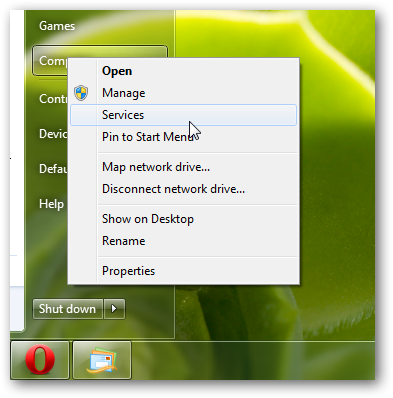 Add Services to the right click context menu in Windows 7-4