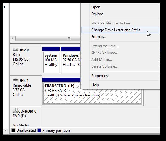 Create an USB key to lock and unlock Windows 7-3