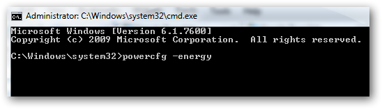 Examine the health of battery of your laptop in Windows 7 without any software-2