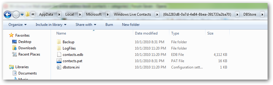 How to export the entire address book in Windows live mail-2