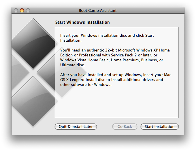 Install Windows 7 on Mac OS Snow Leopard-4