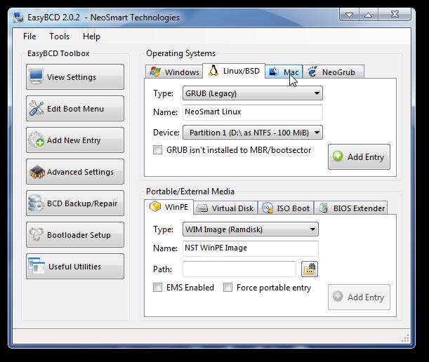 Repair Windows 7 boot and create dual boot-1