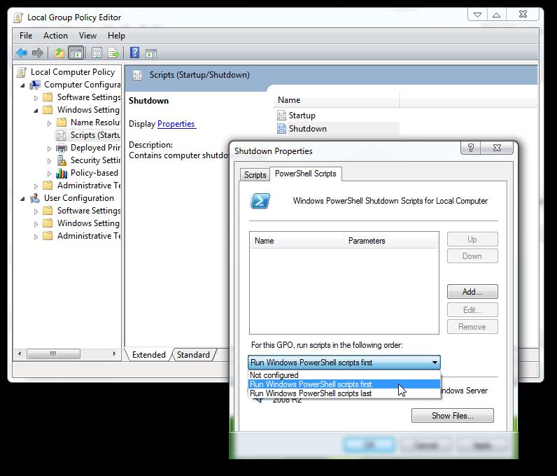 add a custom sound during shut down of Windows 7 1