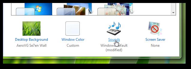 add a custom sound during shut down of Windows 7 3