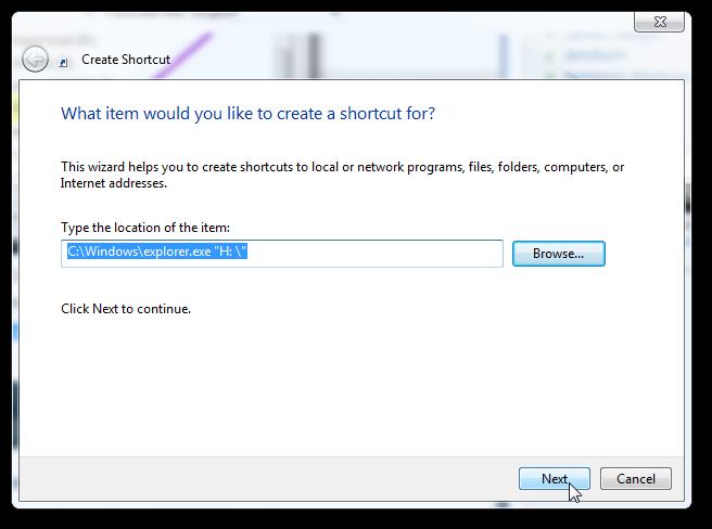 pin thumb drive to taskbar in Windows 7 3