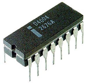 Intel's first processor