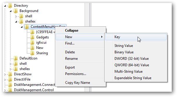 Add 3D Flip option in right click context menu in Windows 7-1