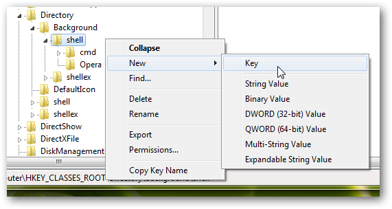 How to Add any program shortcut to Windows 7 right click Context Menu-1