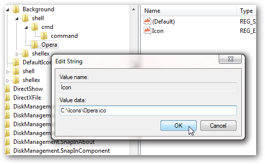 How to Add any program shortcut to Windows 7 right click Context Menu-3