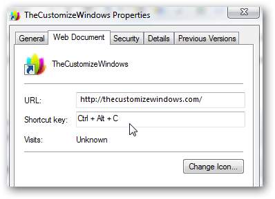 How to create keyboard shortcut to your favourite webpages-4