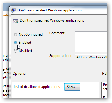 Prevent running specified programs and applications in Windows 7-3