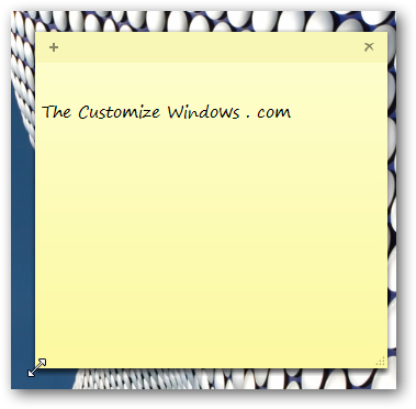 Tips for using Sticky Notes in Windows 7 most effectively-1