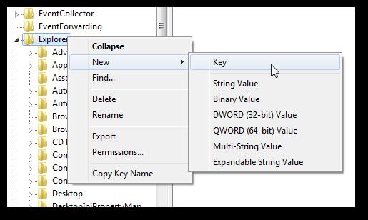 Change the folder icons in left side of explorer pane in Windows 7-2