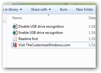 How to block the auto detection of USB storage devices in Windows 7-3