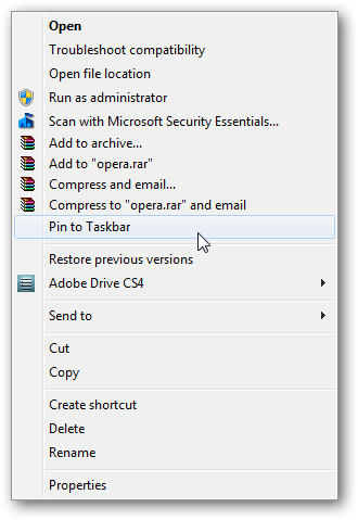 How to remove Pin to Start Menu in right click context menu in Windows 7-2