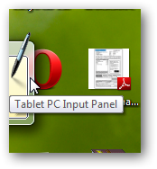 How to use the Tablet PC input in Windows 7-2