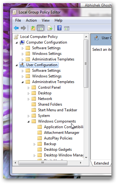 Disable and delete the thumbs.db files in Windows 7-2