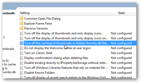 Disable and delete the thumbs.db files in Windows 7-4