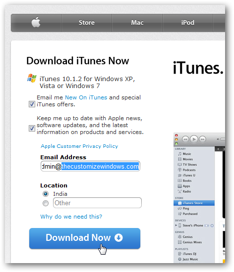 How to download iTunes 64 bit version for Windows 7