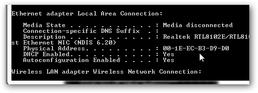 How to find MAC address (Physical Address) in Windows 7-2