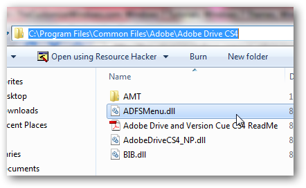 How to remove Adobe drive CSx option from right click context menu in Windows 7-4