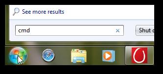 Enable true maximized command prompt window in Windows 7