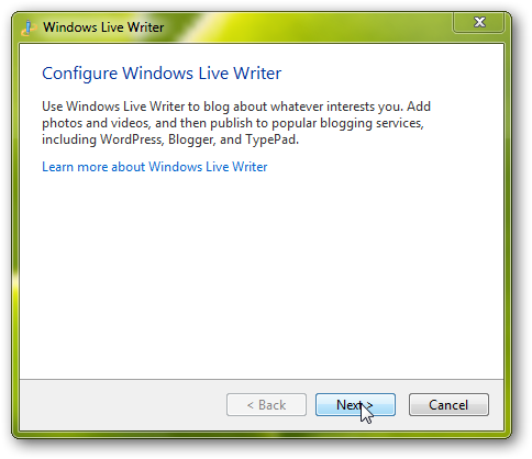 How to configure and use Windows Live Writer for blogging
