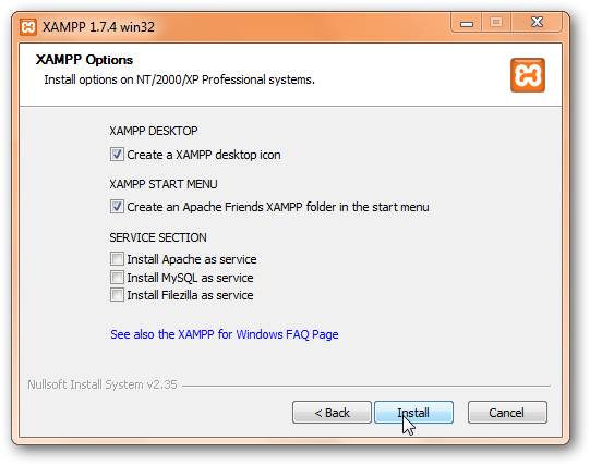 How to install WordPress on Windows 7 to test themes and plugins offline