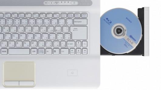 Sony VAIO with blu ray drive