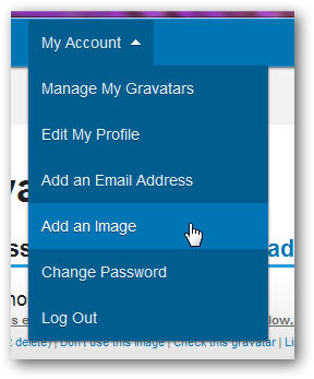 Management of Gravatars in WordPress-1