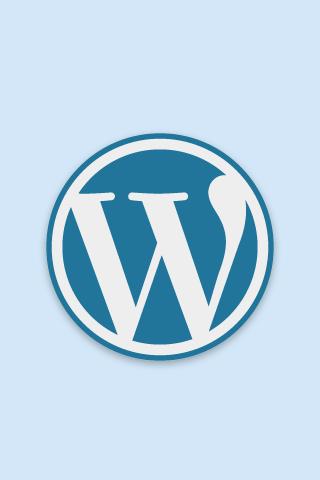 Free official WordPress logo