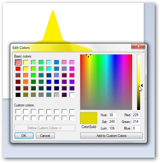 Creating a 3D star in MS Paint-3