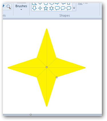 Creating a 3D star in MS Paint-5