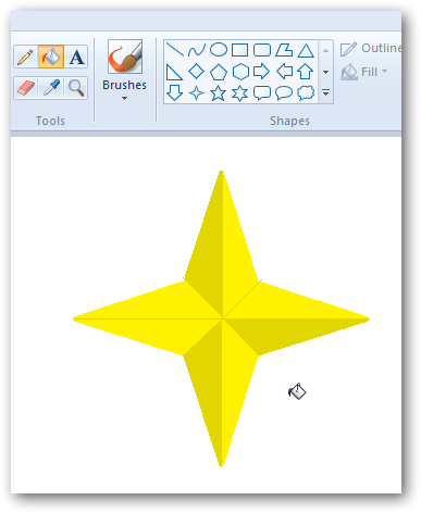 Creating a 3D star in MS Paint-6