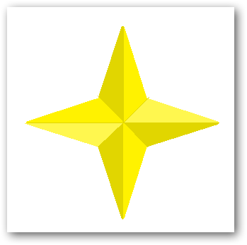 Creating a 3D star in MS Paint-7