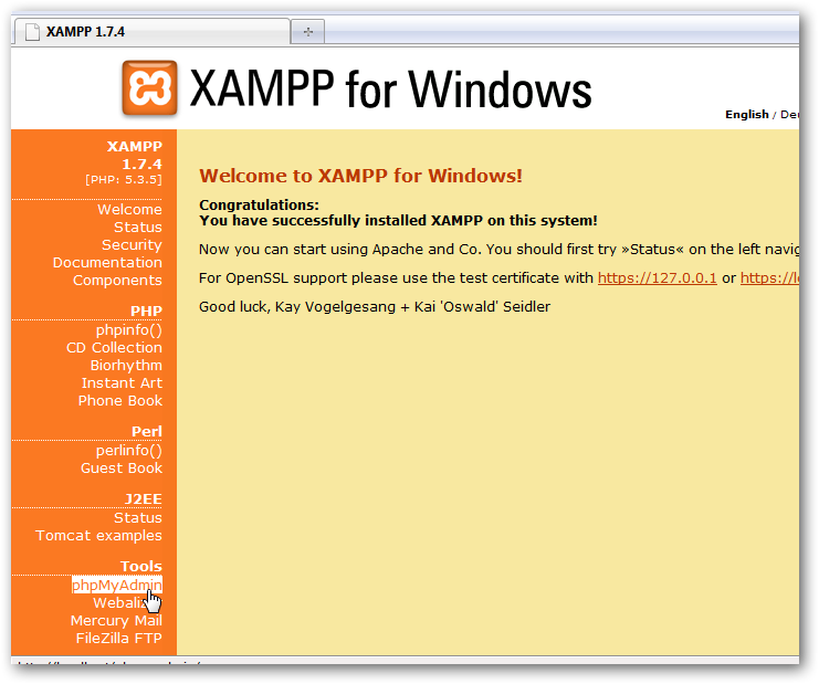 How to install WordPress on Windows 7 to test themes and plugins offline-2