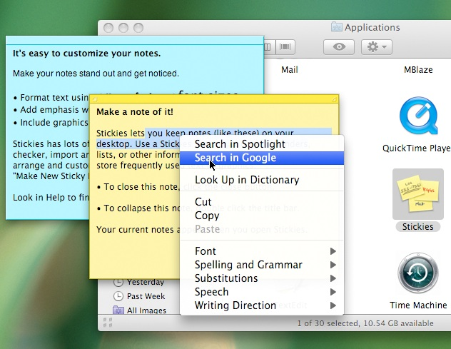 how to find dictionary in mac