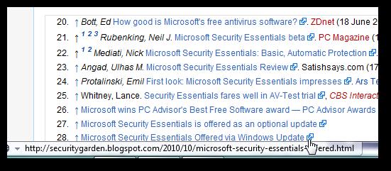 securitygarden on Wikipedia
