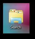 Add search function to Windows 7 jumplist or taskbar