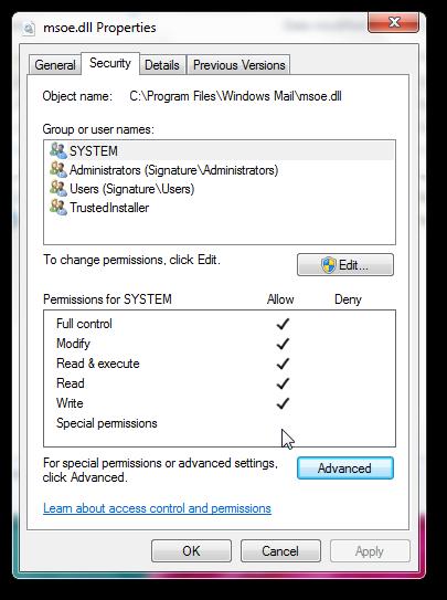 Get back Windows Mail in Windows 7 SP1-5