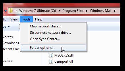 Get back Windows Mail in Windows 7 SP1-7